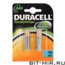 Аккумулятор Duracell 1000 AAA 2шт.