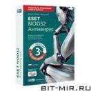 Антивирус Антивирусы NOD32 Aнтивируc 3.0 1ПК/1г