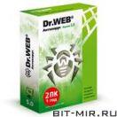 Антивирус Медиа Dr.Web Антивирус 5.0 2ПК/1г