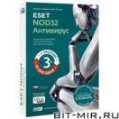 Антивирус Медиа ESET NOD32 Антивирус + Словарь. На 3 ПК на 1 год