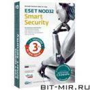Антивирус Медиа ESET NOD32 Smart Security 4.0+Словарь 3ПК на 1год