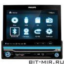 Автомобильная магнитола с DVD + монитор Philips CED750/51