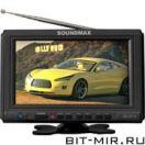 Автомобильный ЖК-телевизор Soundmax SM-LCD710 Black