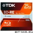 Blu-Ray диск TDK BD-RE25 1шт