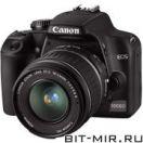 Фотоаппарат цифровой зеркальный 10 Мпикс Canon EOS 1000D 18-55 DC Kit