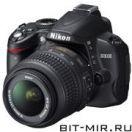Фотоаппарат цифровой зеркальный 10 Мпикс Nikon D3000 DX 18-55 VR