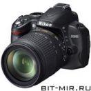 Фотоаппарат цифровой зеркальный 10 Мпикс Nikon D3000 Kit 18-105 VR
