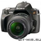 Фотоаппарат цифровой зеркальный 10 Мпикс Sony DSLR-A230L 18-55 Black