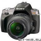 Фотоаппарат цифровой зеркальный 10 Мпикс Sony DSLR-A330L 18-55 Black