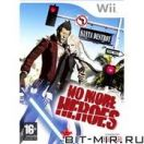 Игровой диск для Nintendo WII Экшн/Action No More Heroes (Рус.д)