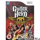 Игровой диск для Nintendo WII Симуляторы/Simulators Guitar Hero:Aerosmith