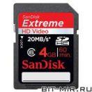 Карта памяти SDHC SanDisk SDSDRX3-04G-E21