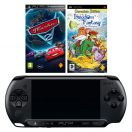 Playstation Portable (PSP) Sony E1008 Black + Cars 2 (Тач...