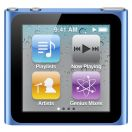 Плеер MP3 Flash iPod Nano Apple MC689QB/A 8Gb Blue