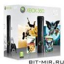 XBOX360 Microsoft Xbox 360 ELITE + игры Disney Pure и Lego Batman